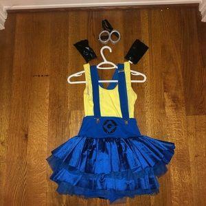 Adult medium minions costume